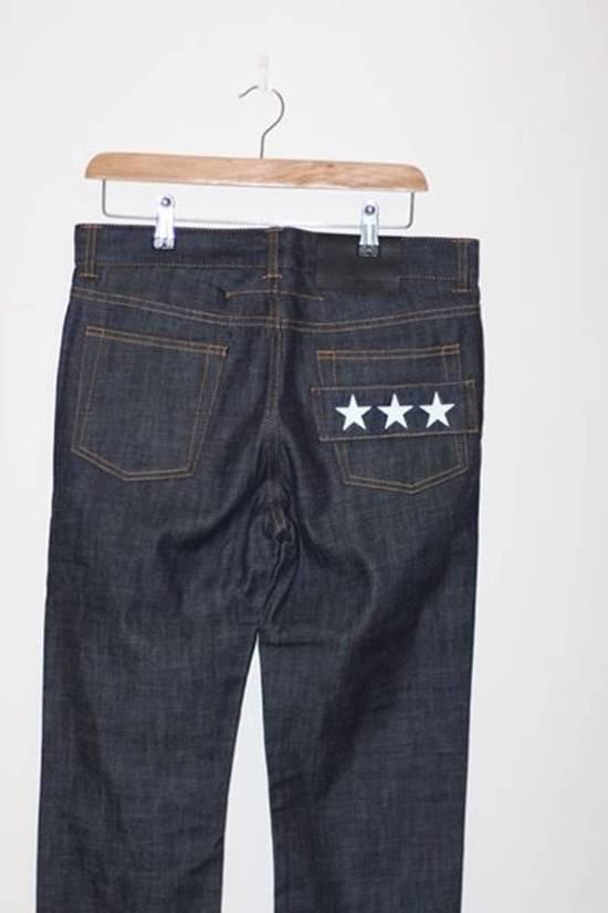 Givenchy Star Applique Selvedge Denim Size US 30 / EU 46 - 1