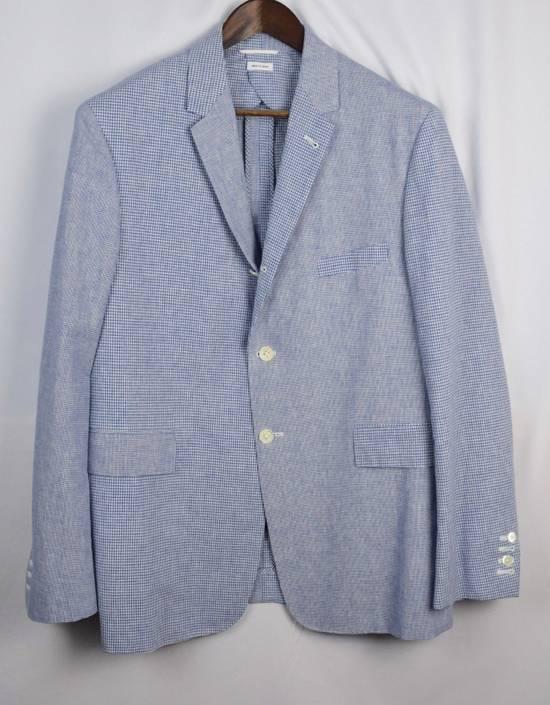 Thom Browne Thom Browne Fun Mix Blazer Men's 4 New Blue Size 42L