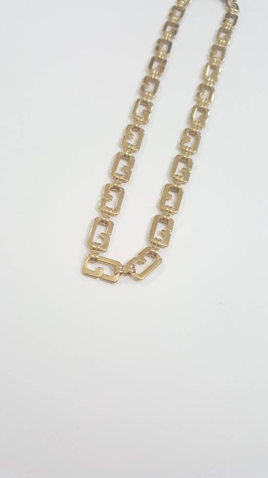 Givenchy Gold plated necklace G link Size ONE SIZE - 3