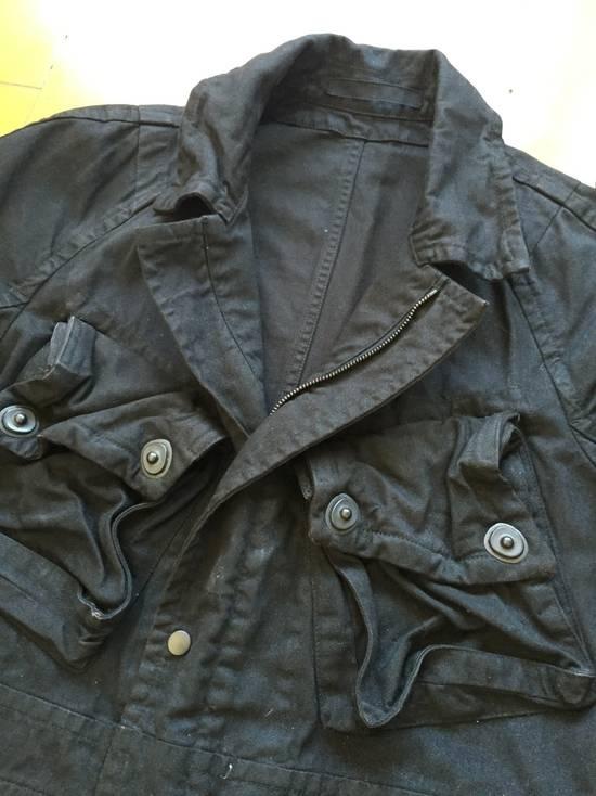 Julius AW08 Gas mask cargo pocket denim jacket Size US S / EU 44-46 / 1 - 4