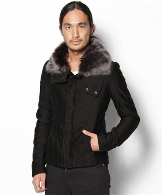 Julius JULIUS Cotton Moleskine Fur Collar Jacket Size US S / EU 44-46 / 1 - 7