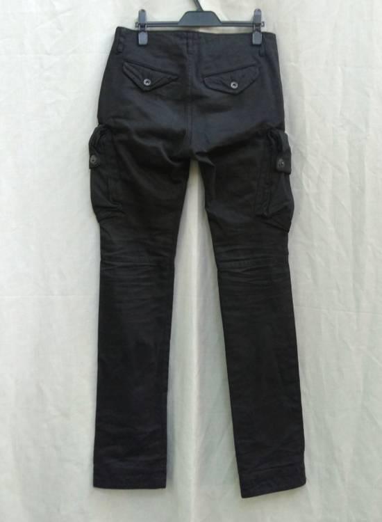 Julius FW09 Black Slim Gas Mask Cargo Pants Size US 30 / EU 46 - 1