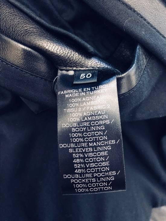 Balmain Full Leather Bomber Jacket Size US M / EU 48-50 / 2 - 4