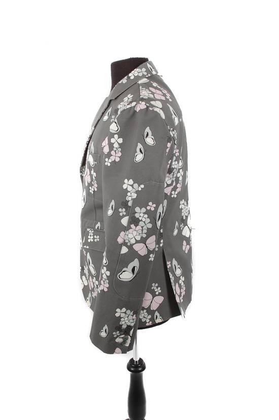Thom Browne Thom Browne Grey Butterfly Print Blazer Size 40R - 2