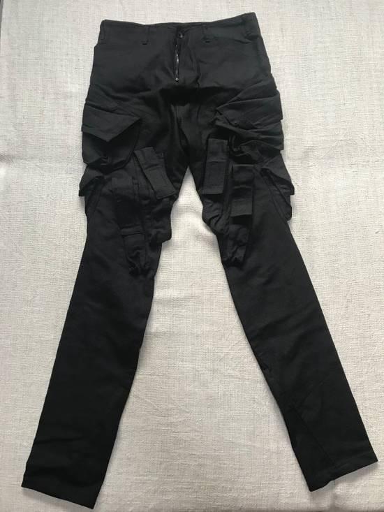 Julius SS15 Slim cargo gas mask pants Size US 31
