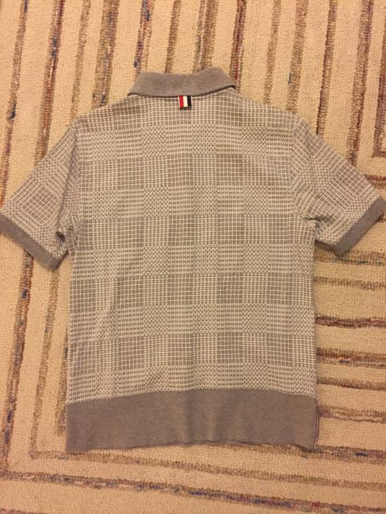 Thom Browne SS15 Patterned Polo Size 2 Size US XS / EU 42 / 0 - 3