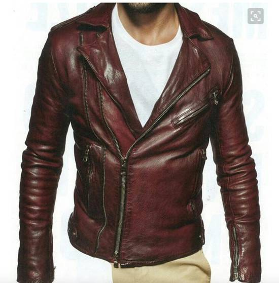 Balmain Biker leather jacket Size US M / EU 48-50 / 2 - 1