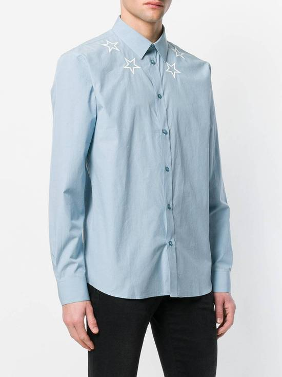 Givenchy Givenchy star embroidered blue shirt sz 38 Size US S / EU 44-46 / 1
