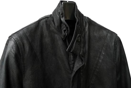 Julius JULIUS _7 ma moto black knit denium biker jacket sz1 eu44 46 xs s slim fit Japan Size US S / EU 44-46 / 1 - 12