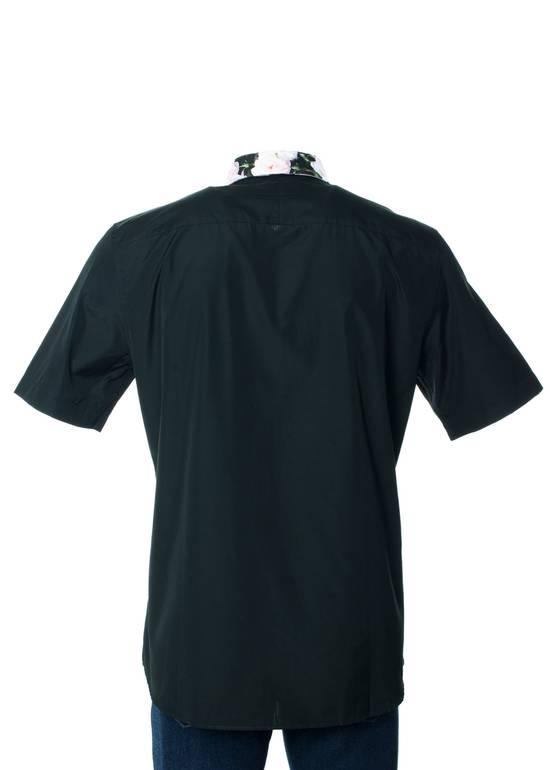 Givenchy Givenchy Men's Black Polo W/ Floral Collar Size US XXS / EU 40 - 2
