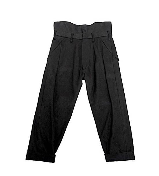 Julius Julius Cropped Military Wool Pants 597 PAM1 Sz.1 Size US 29 - 1