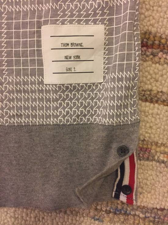 Thom Browne SS15 Patterned Polo Size 2 Size US XS / EU 42 / 0 - 1