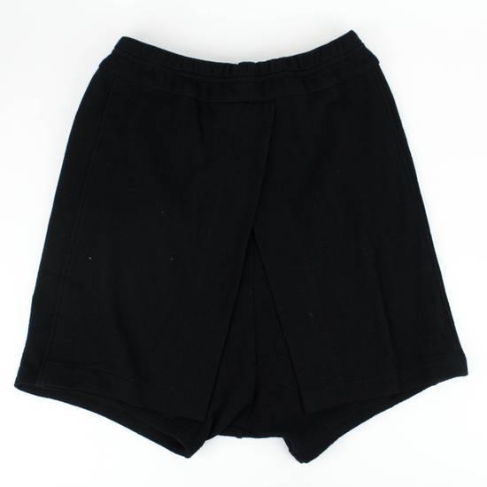 Julius 7 Black Cotton Asymmetric Layered Shorts Size S Size US 32 / EU 48 - 1