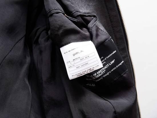 Julius Julius Jut Neck Leather Jacket Size US S / EU 44-46 / 1 - 3