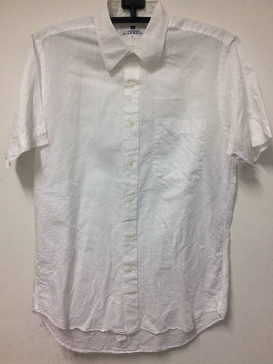 Givenchy Button Up S/S Monsieur Givenchy White Large Made in Japan. Size US L / EU 52-54 / 3