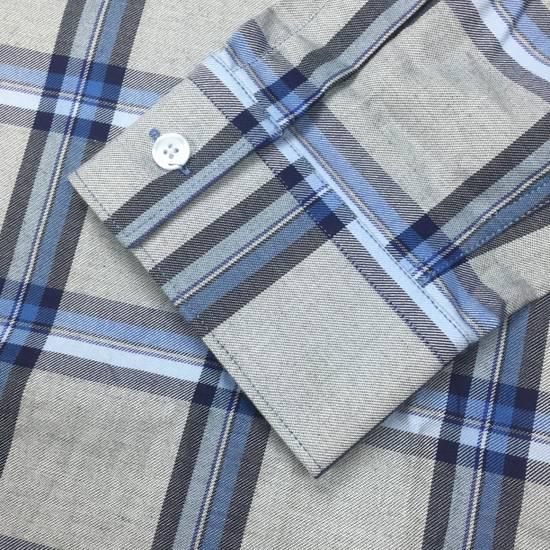 Givenchy Blue Cuban Fit Flannel Shirt NWT Size US M / EU 48-50 / 2 - 5
