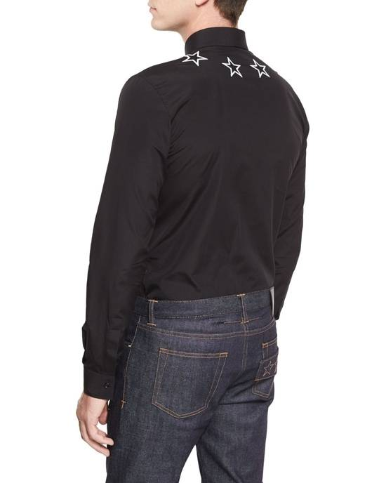 Givenchy Black and white embroidered stars shirt Size US S / EU 44-46 / 1 - 3