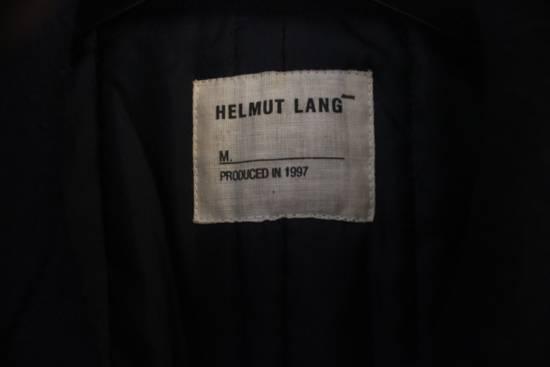 Helmut  Lang AW97 OG Archival Resin Stripe Military Coat Size US M / EU 48-50 / 2 - 3