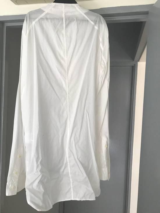 Julius SS16 long shirt with no collar Size US L / EU 52-54 / 3 - 4