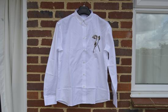Givenchy Cutlery Print Shirt Size US L / EU 52-54 / 3