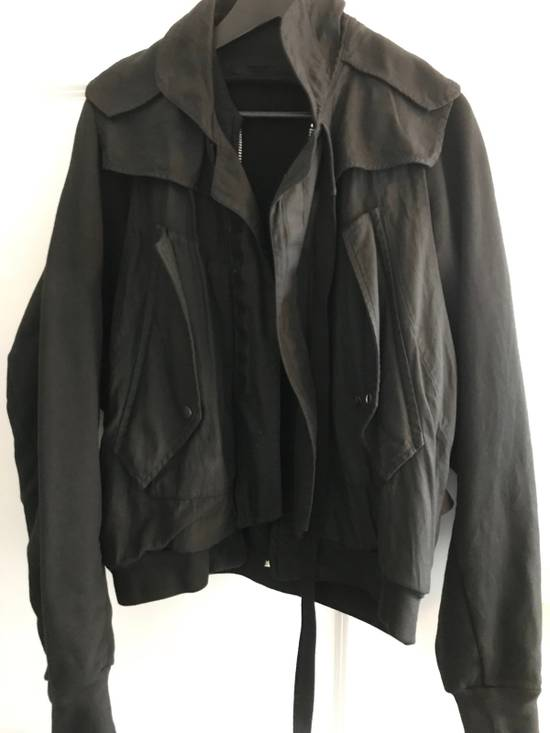 Julius Black Utility Bomber Jacket Size US M / EU 48-50 / 2