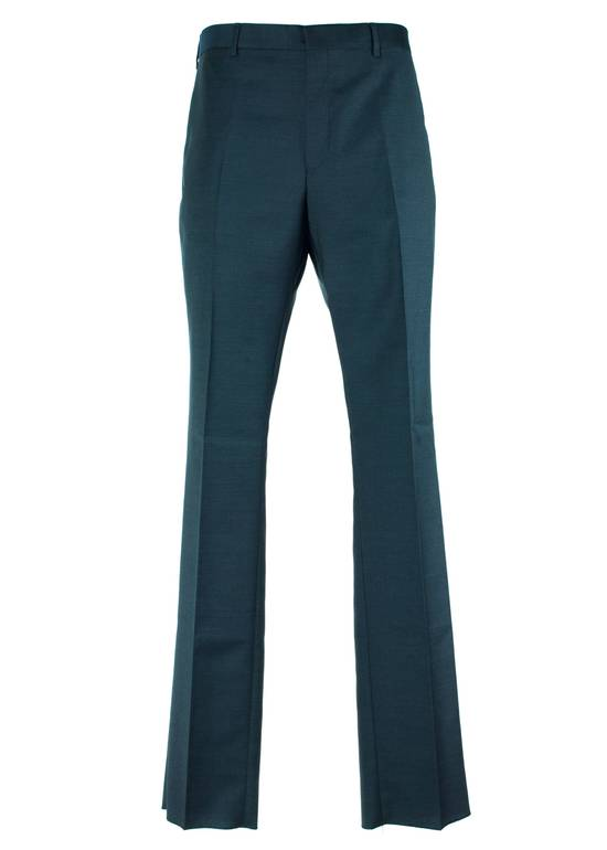 Givenchy Givenchy Men's Classic 100% Wool Navy Trousers Size US 36 / EU 52 - 1