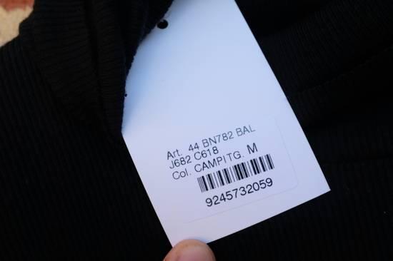 Balmain Black Ribbed Knit Roll Neck T-shirt Size US M / EU 48-50 / 2 - 6