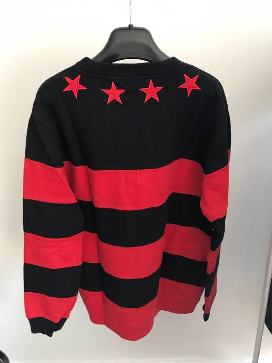 Givenchy Red Star Sweatshirt Size US L / EU 52-54 / 3 - 1