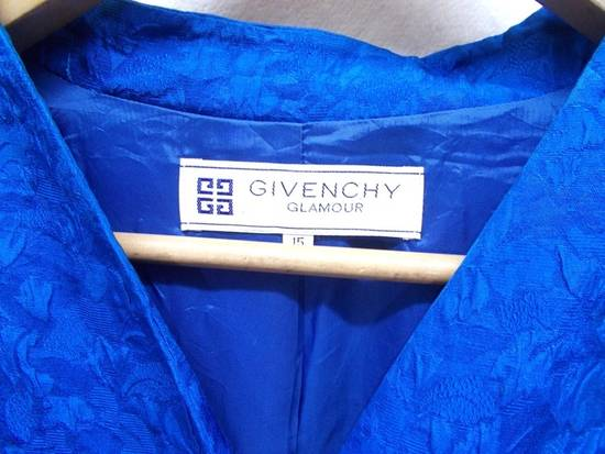 Givenchy 🔥 Givenchy Glamour Paris 100% Silk Diamond Button Up Blazer Coat Shirt Size 38R - 11
