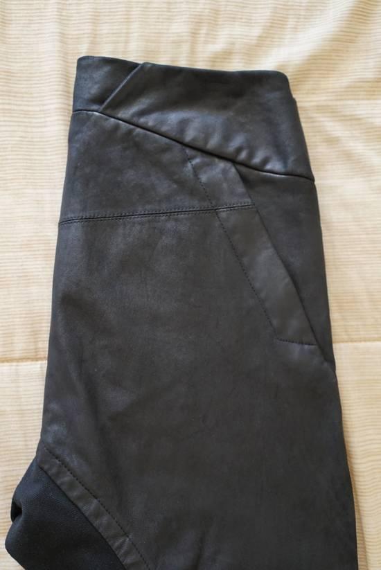Julius BNWT Leather Paneled Biker Pants Size US 30 / EU 46 - 4