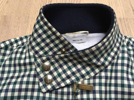 Thom Browne Gingham check wool/cashmere Harrington Jacket Size US S / EU 44-46 / 1 - 1