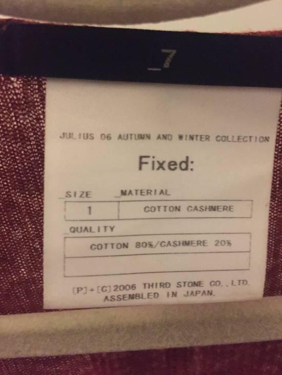 Julius Julius Long Sleeves Size US S / EU 44-46 / 1 - 2
