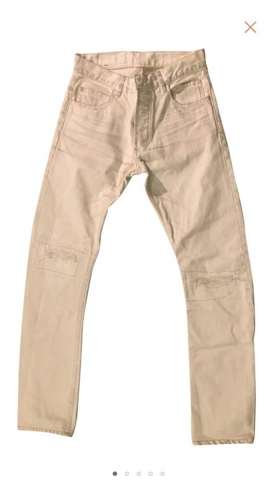 Balmain White Denim Size US 30 / EU 46