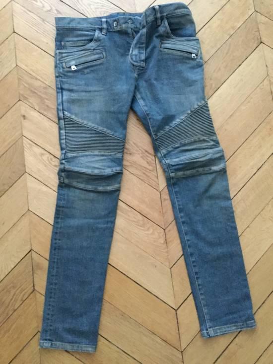 Balmain Balmain Biker Jeans Slim Fit Size 33 Size US 33