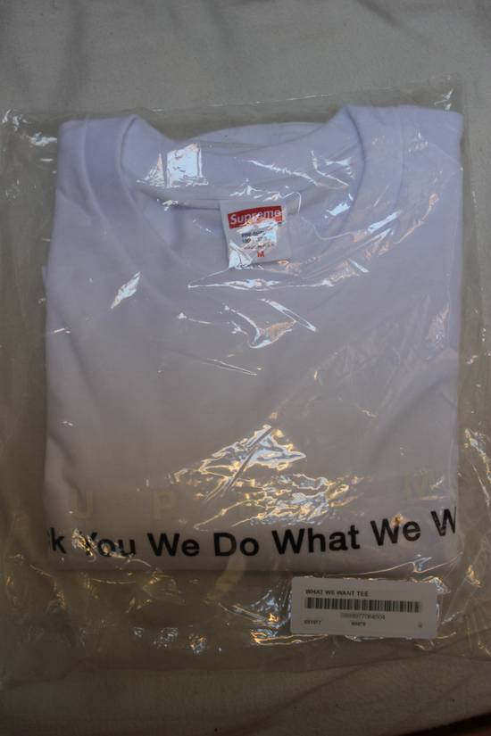 Supreme We Do What We Want Tee Size US M / EU 48-50 / 2 - 1