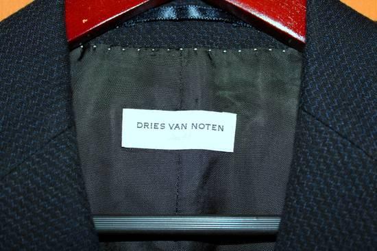 Dries Van Noten luxury blazer sportcoat wool cotton mix Size 38R - 5