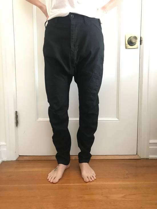 Julius BRAND NEW JULIUS APCLPS LOW CROTCH LIGHT DENIM BLACK PANTS Size US 29