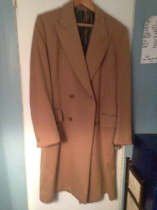 Balmain Camel Overcoat Size US L / EU 52-54 / 3 - 1