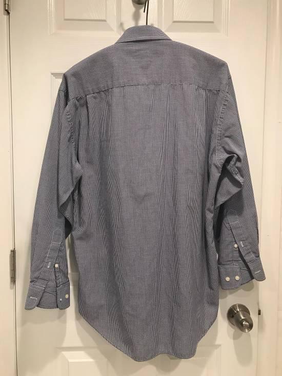 Givenchy Blue + White Button Up Size US M / EU 48-50 / 2 - 2