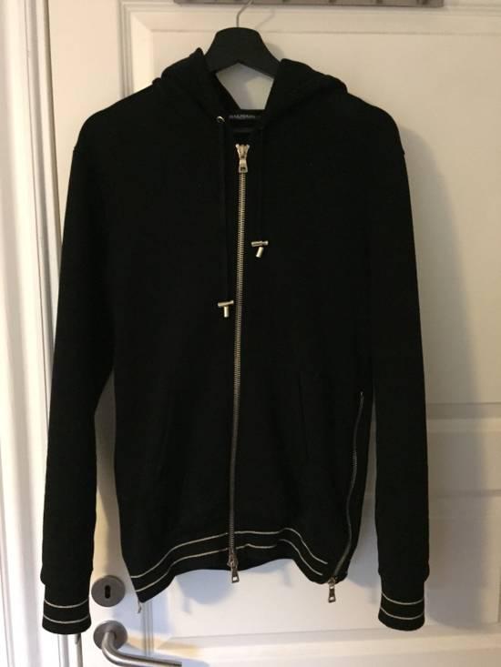 Balmain Balmain Cotton-Jersey Hoodie Size US S / EU 44-46 / 1
