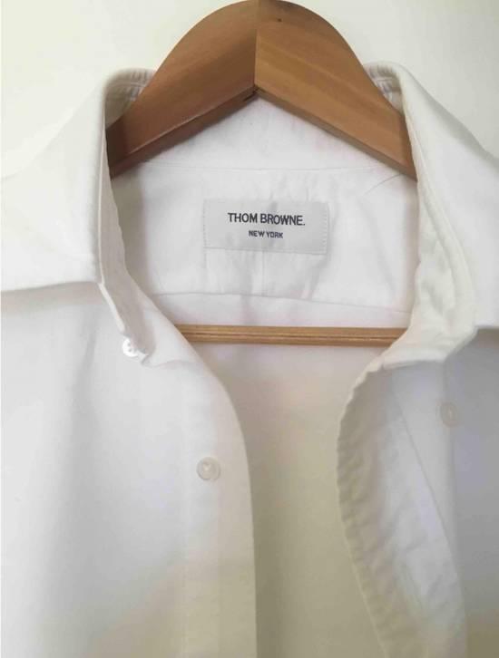 Thom Browne TB White Shirt Size US M / EU 48-50 / 2 - 1