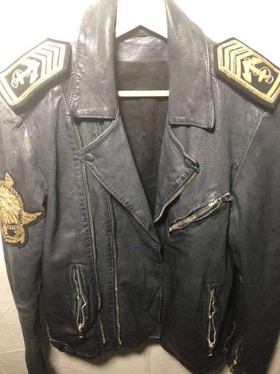 Balmain Sailor's Leather Jacket Size 50 Size US M / EU 48-50 / 2 - 2