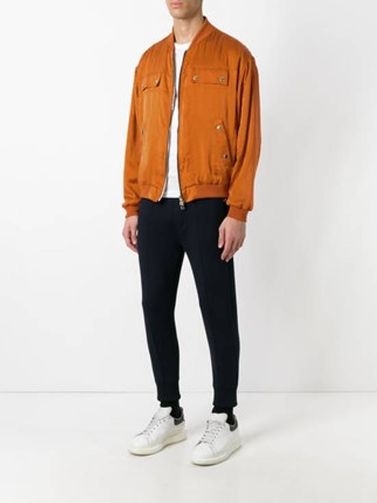 Balmain Orange Bomber Jacket Size US S / EU 44-46 / 1 - 1