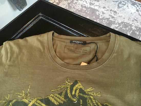 Balmain Balmain Khaki Eagle T-Shirt Size US L / EU 52-54 / 3 - 1