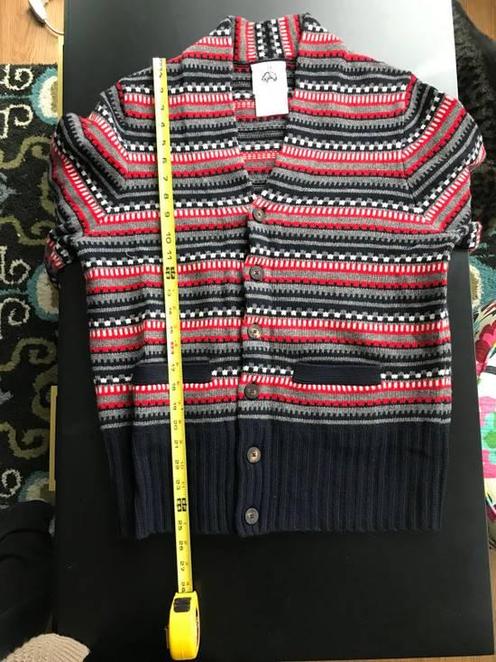 Thom Browne Black Fleece Wool Chunky Cardigan Size US L / EU 52-54 / 3 - 6