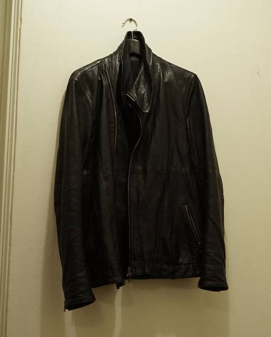 Julius Lamb Leather Jacket - s/s 11 Chaos Ontological Anarchism Size US S / EU 44-46 / 1 - 3