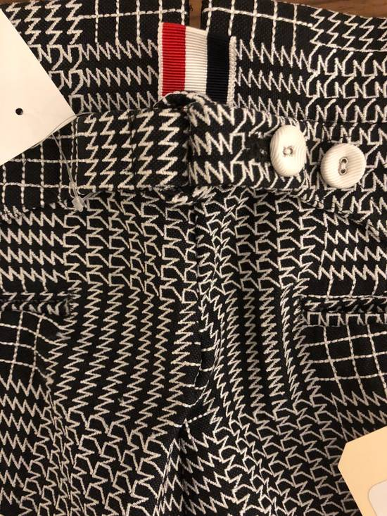 Thom Browne Classic Glen Plaid Embroidered Backstrap Short Size US 28 / EU 44 - 5