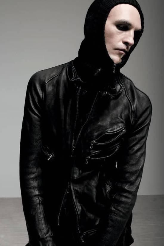 Julius Super rare JULIUS MID-WINTER 2011-2012 HALO MOTO leather jacket Size US L / EU 52-54 / 3
