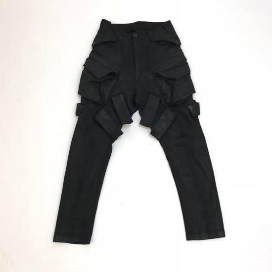 Julius FW15 Sphere/Gas Mask Waxed Denim Cargo Pants Size US 30 / EU 46