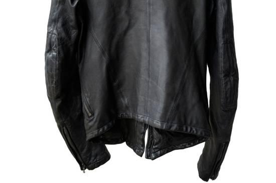 Julius JULIUS _7 ma high neck black lamb biker jacket slim fit Japan Size US S / EU 44-46 / 1 - 15